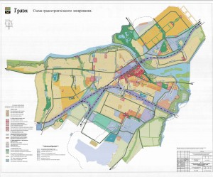 К-Карта градостроительного зонирования